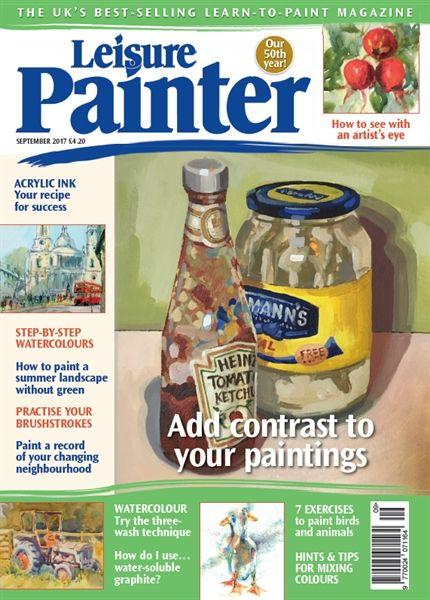 September 2017 Leisure Painter. Buy online, http://www.painters-online.co.uk/