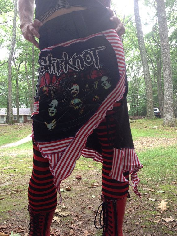 Slipknot band ninja skirt