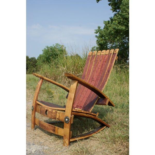 Wine Barrel Chair   Seating   Furniture Paul Michael Company