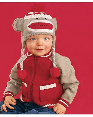 Knitting Pattern For Sock Monkey Sweater : 17 Best images about Knitting on Pinterest Free pattern, Knit patterns and ...