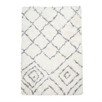 The Kuba rug from House Doctor is a cozy rug with long, soft fringing that is reminiscent rug trends from the 70s. It is a great, understated rug that still adds a little something to your living room or bedroom.