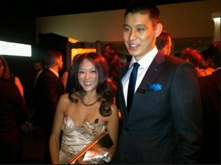 Amy Chua & Jeremy Lin @ TIME 100 Gala