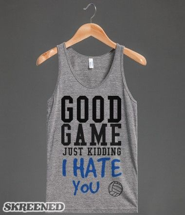 This will be my inappropriate Go Sports shirt for kids' games.