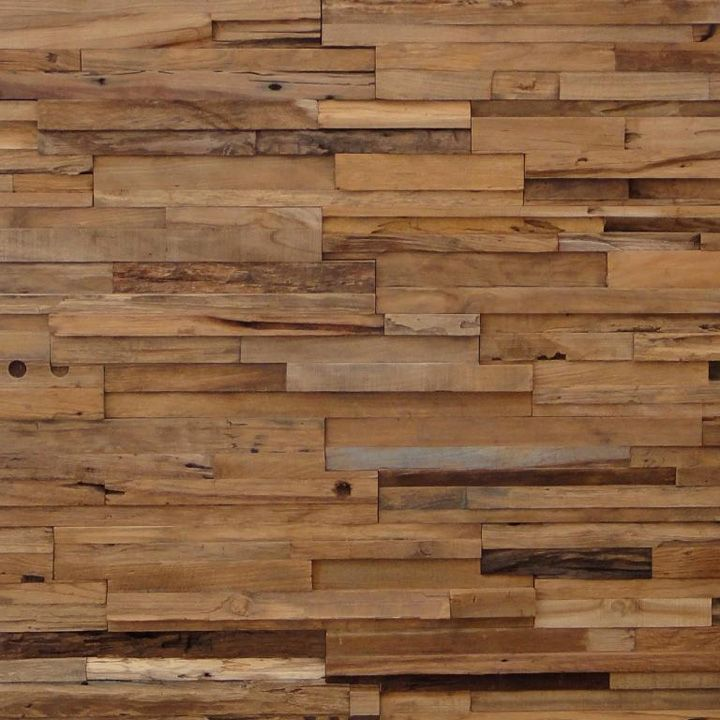 Wooden walls.  I have so much wood scraps from projects we are doing.  I would like to do this on a smaller wall in my home.