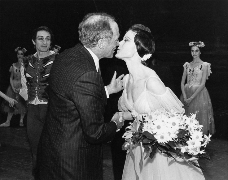 Pierre Trudeau and Karen Kain after #Giselle in Ottawa, 1980.
