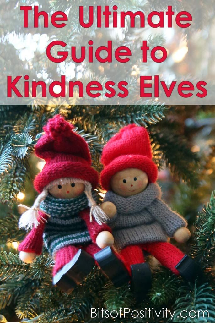 Ultimate guide with hundreds of ideas and resources for using Kindness Elves to encourage character development at Christmas and throughout the year.