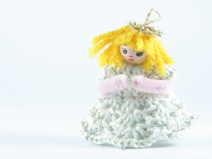 angelo bianco lurex multicolor di Un Cesto di Gomitoli su DaWanda.com