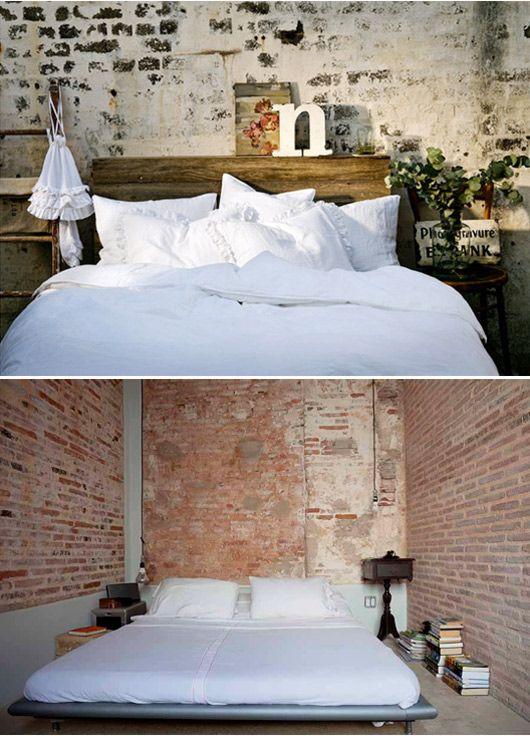 exposed brick bedroom design ideas. simple small bedrooms exposed brick bedroom design ideas