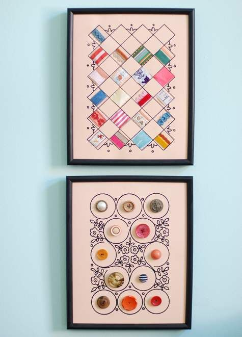 sewing notion wall art (free printable)    @Jerri Ann Mills, I thought this would be fun for a craft/sewing room! I started printing on fabric using my printer, I think these would be awesome printed on thin muslin and framed! I thought of you!: Sewing Room, Art Display, Art Ideas, Design Sponge, Diy Wall Art, Diy Projects, Sewing Notions