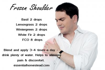 how to fix a frozen shoulder naturally