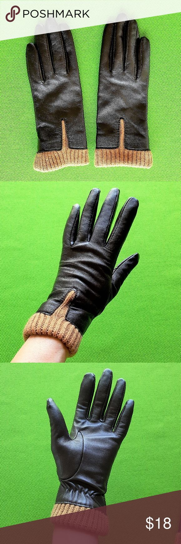 Extra small ladies leather gloves uk - Wilson S Leather Brown Leather Gloves Small
