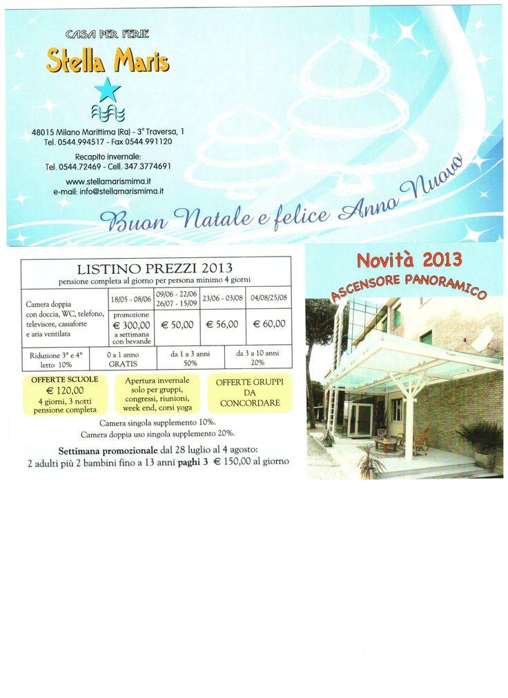 prezzi del 2013