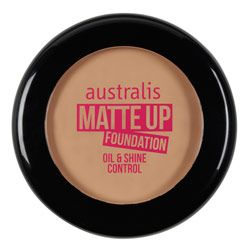 Australis Matte Up Foundation $14.95. Oil-free cream-to-powder finish foundation with a medium to full coverage. @Australis Cosmetics
