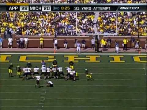 Anatomy of an Upset: Appalachian State v. Michigan 2007 (Football Study Hall)