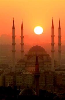 Kocatepe Mosque in Ankara