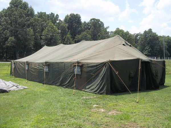 8 best Military Tents images on Pinterest | Cotton canvas ...