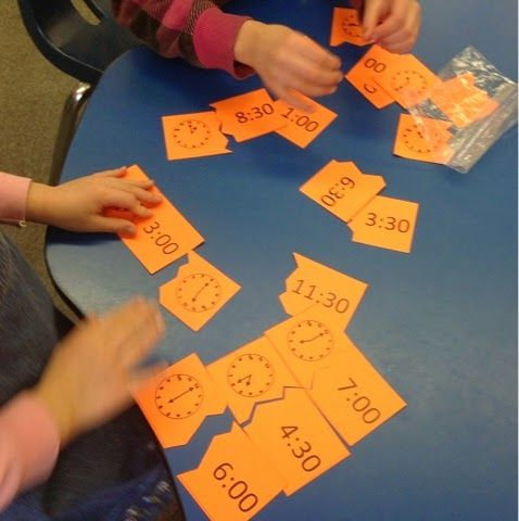 Take a look at how I get first graders to meet Common Core standards for telling time!