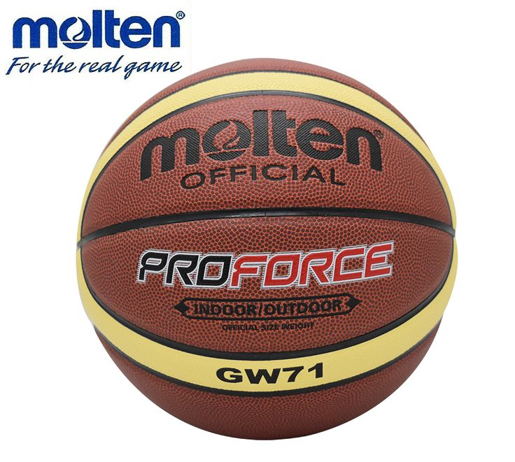 NEW Hotselling Hight Quality Molten BGW71 Men's Basketball Ball PU Materia Official Size7 Basketball Free With Net Bag+ Needle