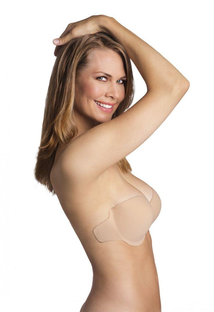 Very Bare Bra Strapless Adhesive Stick On Bra For