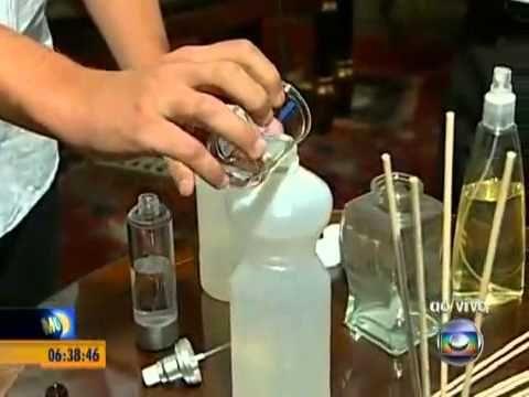 Especialista, Fabian Laszlo, ensina receitas faceis para deixar a casa cheirosa - YouTube
