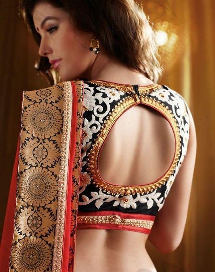 the 25 best blouse back neck designs ideas on pinterest