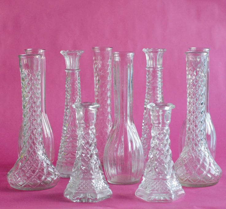 Antique Bud Vases
