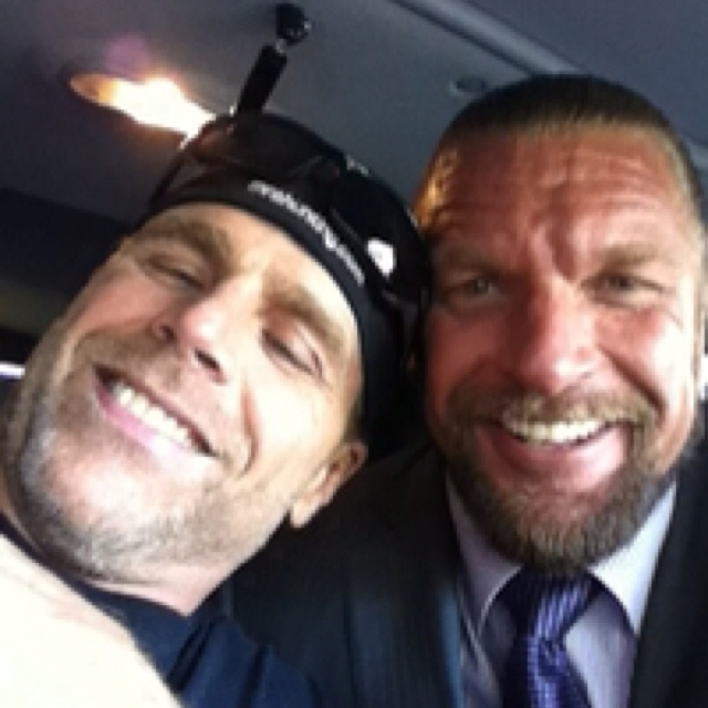 "Shawn Michaels & Triple H. ""You can take the boys out of the playground. You cannot take the playground out of the boys."""