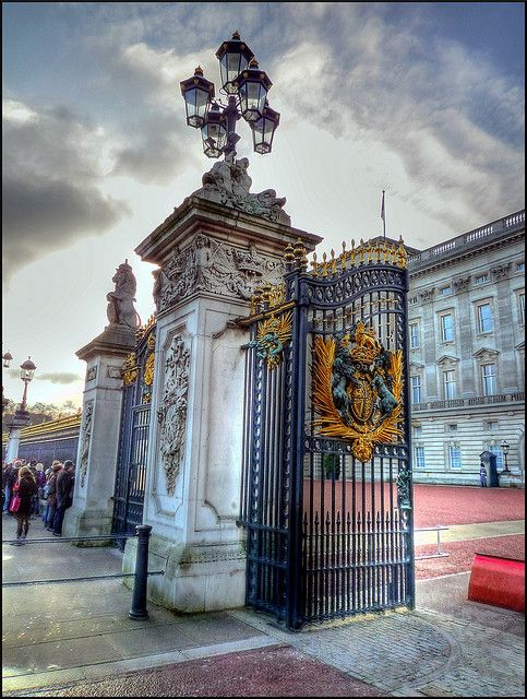 Buckingham Palace, London, England! It's an amazing place to see!