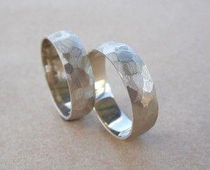 Граненые обручальные кольца из белого золота by Jeweller_kuznec - Игорь Анdронов