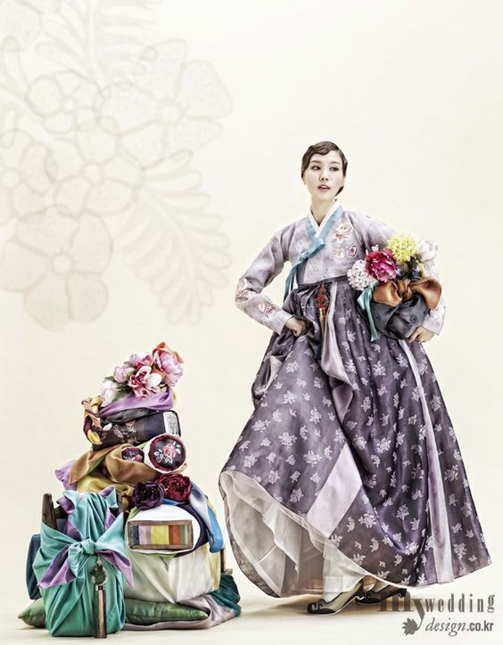 Hanbok, korean traditional clothes / My wedding / 바이단의 가을 풍경 한복, 가을을 품다 / 바이단: