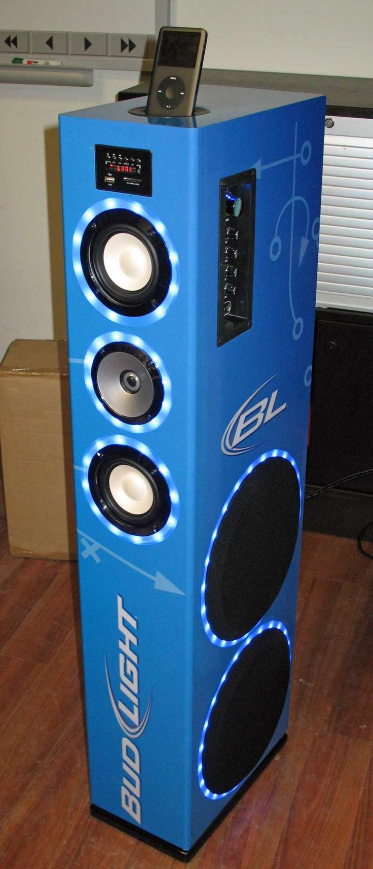 Bud Light Speaker Tower 2013 Music Pinterest