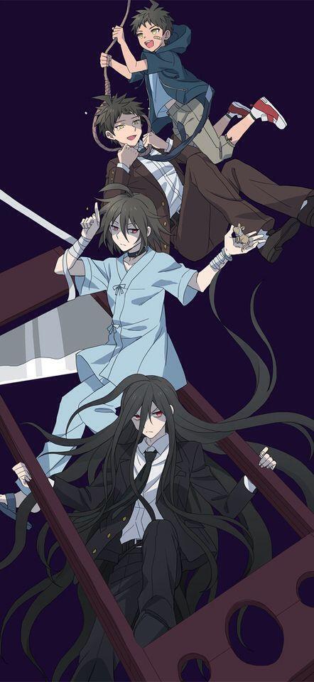 Hinata Hajime and Kamukura Izuru