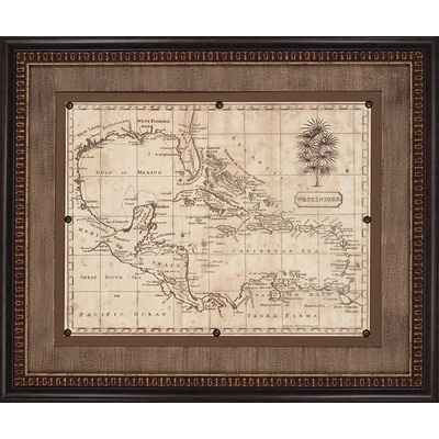 412 best maps images on pinterest cartography antique maps and paragon caribbean old world map 1806 framed print arrowsmith sciox Gallery