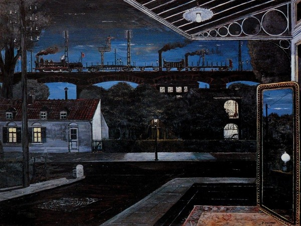 Paul Delvaux, The Viaduct, 1963