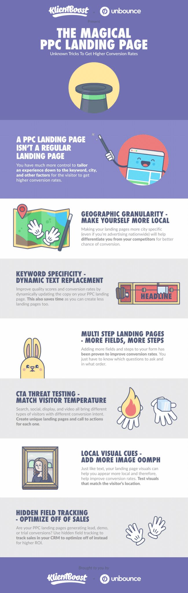 Pay per Click Tips: 7 Steps to a Higher Converting Landing Page #Infographic