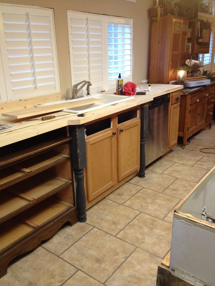 Old world manufactured home kitchen remodel home How to renovate old furniture