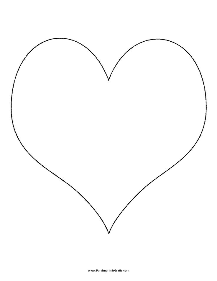 plantillas de corazones para imprimir - Buscar con Google