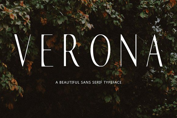 Verona - 25% off by Blossom on @creativemarket