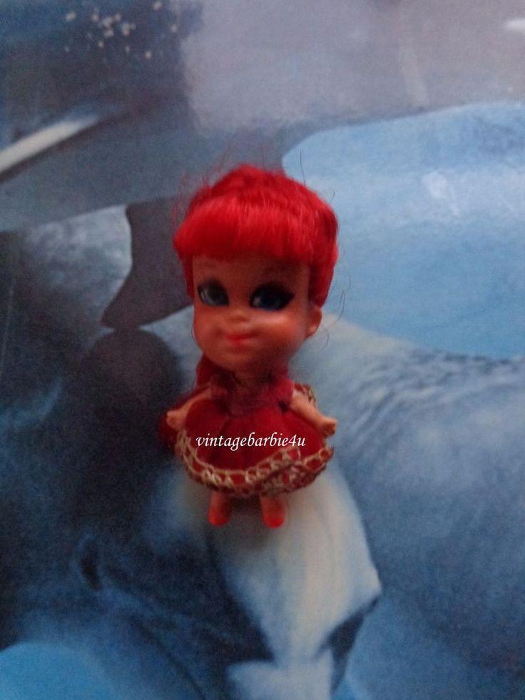 Vintage Little Kiddles Kolognes Rosebud Doll #3702 HTF Mini Doll by Mattel  #Mattel #DollswithClothingAccessories
