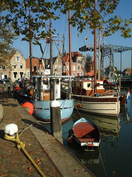 Havenkom in Maassluis