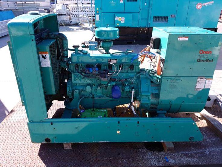 25 kva Onan generator,Ford Motor with factory LPG