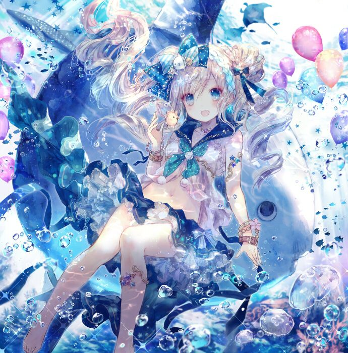 15 best Under water images on Pinterest Anime girls