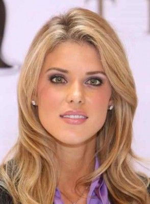 Carrie Prejean hair and make up