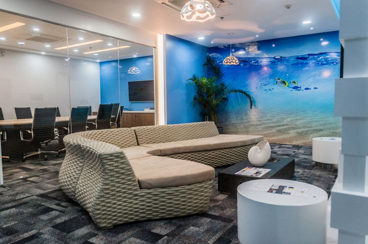 Office - Living room - Meeting area - Flexible office space -  Manila
