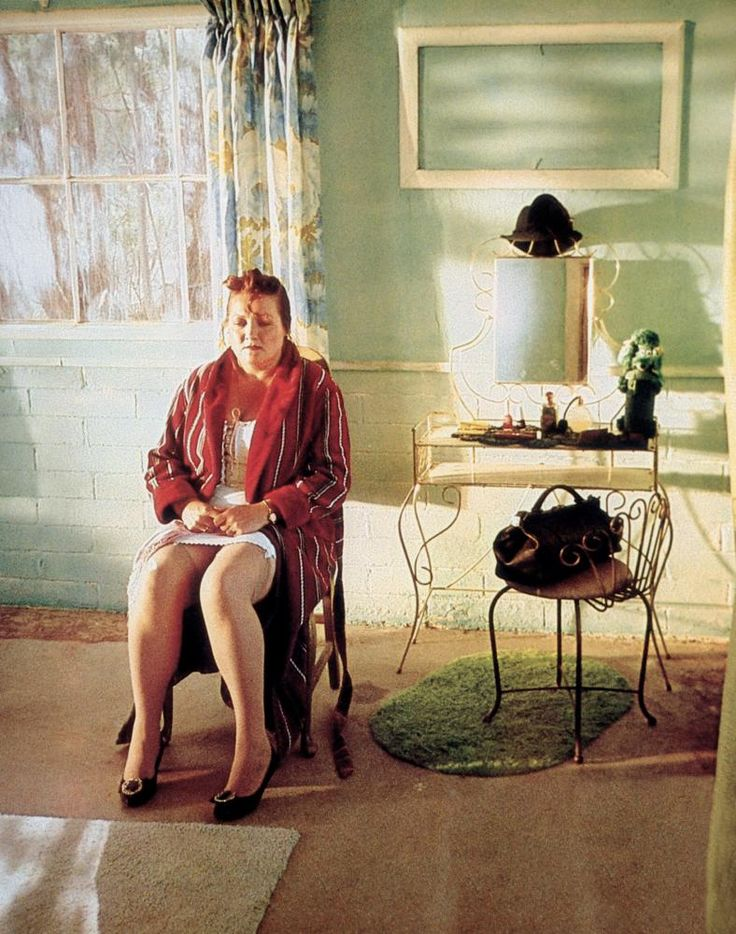 BAGDAD CAFE, Marianne Sagebrecht, 1987. ©Island Pictures
