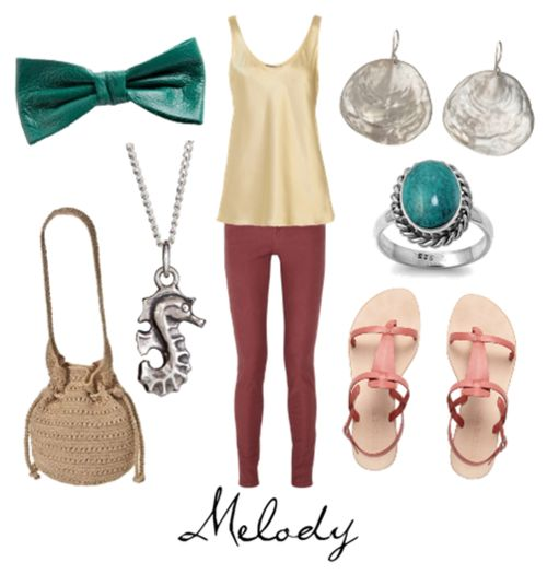 The Little Mermaid: Melody (Love the bow!)   Disney ...