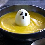 Græskarsuppe med spøgelser