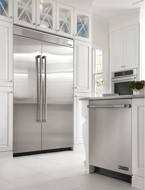 """Jenn-Air® 48"""" Fully Integrated Built-In Side by Side Refrigerator from Jenn-Air  http://www.homeportfolio.com/contest/your-perfect-kitchen-questionnaire"""