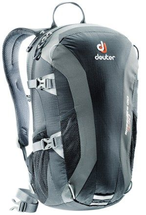 The Deuter Speed Lite 20 pack weighs just over 1 lb.—less weight means more comfort and energy for adventure racing, climbing, short ski tours or just walking around town. Available at REI, 100% Satisfaction Guaranteed.