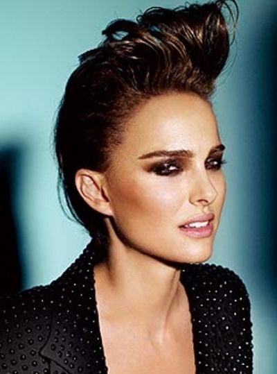 Natalie Portman Rockabilly Hairstyle (My woman crush rocks it too! Oh yeah!) haha
